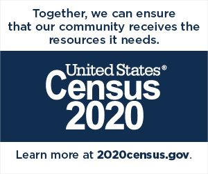 Census Partnership Web Badges showing why you take the Census
